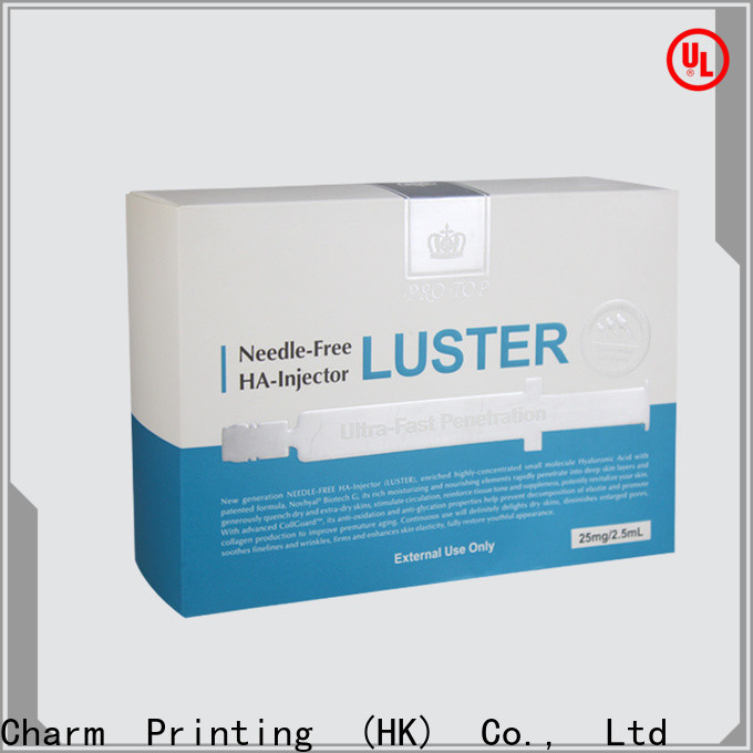 CharmPrinting cosmetic packaging high quality gift package