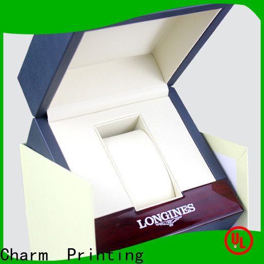 Charm Printing with tray jewelry box factory price for luxury box