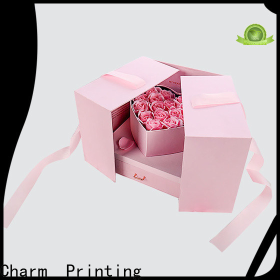 CharmPrinting book shape type packaging boxes factory price for packaging
