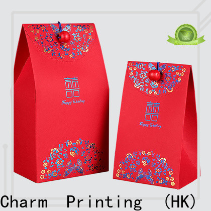 Charm Printing gift packaging for wholesale for wedding packaging