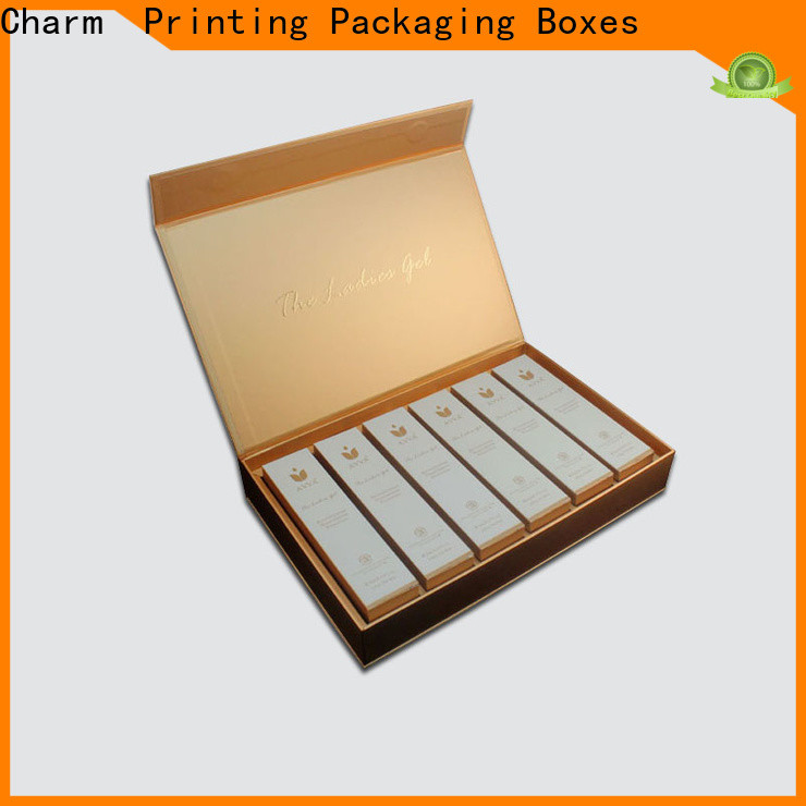 CharmPrinting cosmetic packaging high quality storage
