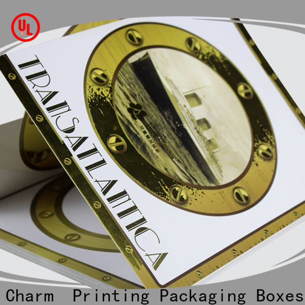 Charm Printing custom wedding packaging creative design for luxury box