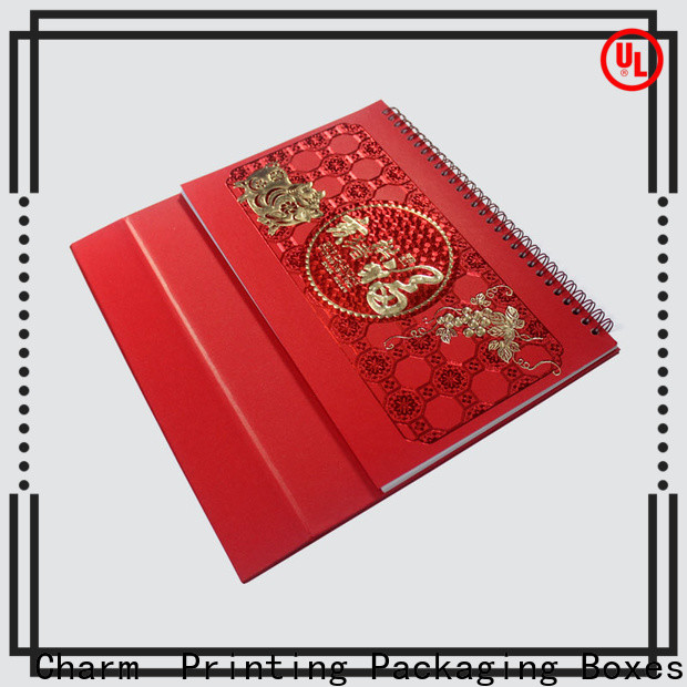 CharmPrinting magnet gift box packaging boxes factory price for packaging