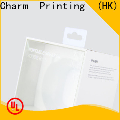 Charm Printing special-shape electronics packaging handmade for box packaging