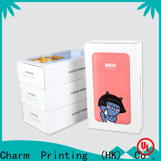 CharmPrinting electronics packaging craft paper for electronic produts