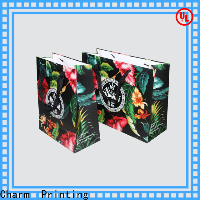 CharmPrinting OEM paper shopping bags fashion design for paper bag