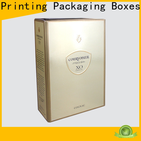 Charm Printing wine packaging box handmade alcohol packaging