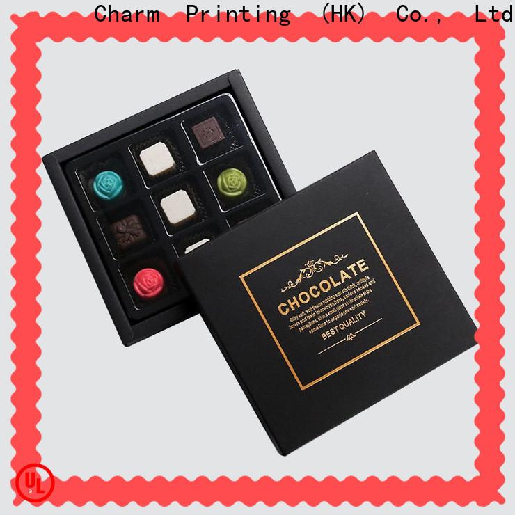 CharmPrinting chocolate box automatic slide gift box