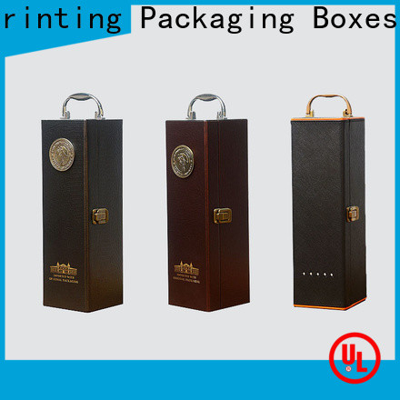 corrugated wine gift box manufacturer wine packaging
