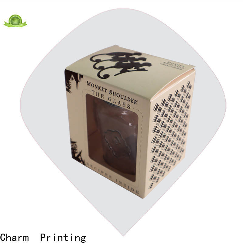 CharmPrinting silk printing candle packaging box good for gift