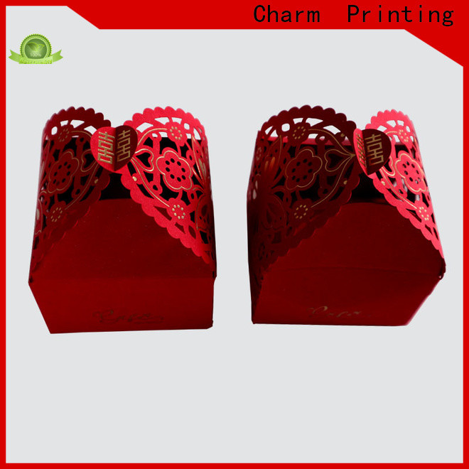 Charm Printing favor boxes for wholesale for gift