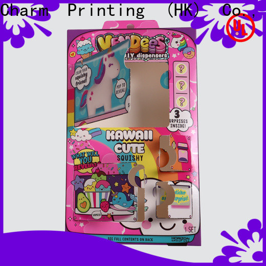 CharmPrinting custom toy packaging boxes buy now gift packaging