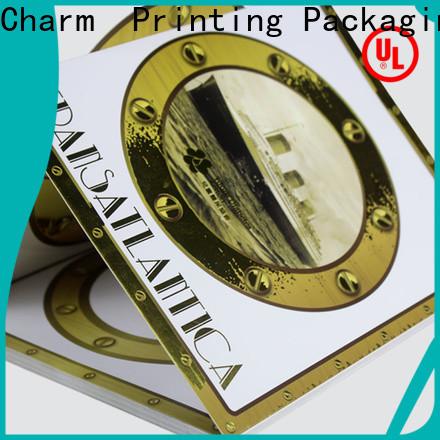 CharmPrinting art paper gift packaging creative design for wedding packaging