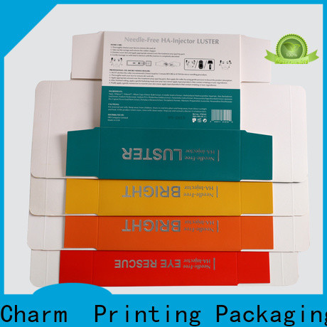 customized cosmetic box uv printing shop promotion