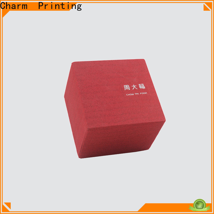 Charm Printing book shape jewelry packaging high-quality for jewelry packaging