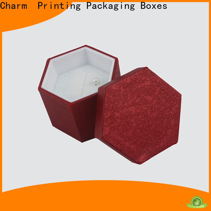 CharmPrinting with tray jewelry packaging factory price for gift box