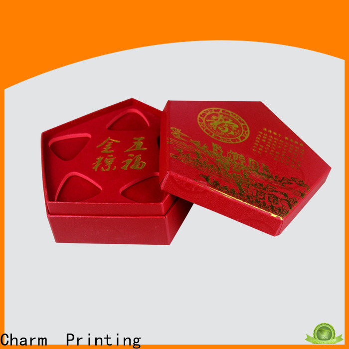 CharmPrinting jewelry packaging box high-quality for luxury box