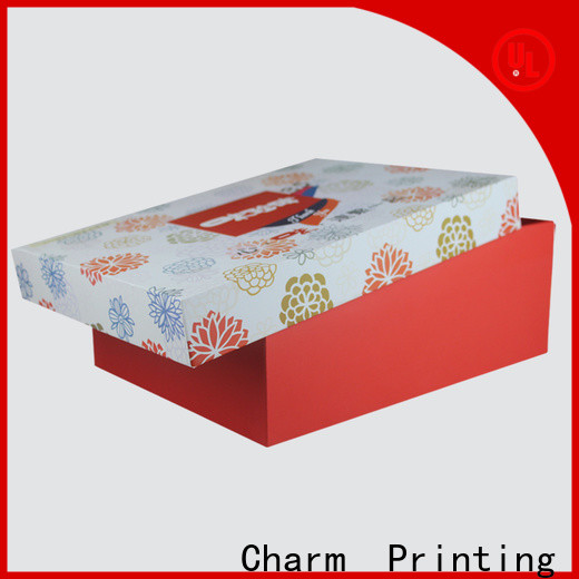 CharmPrinting pillow box high quality for food packaging