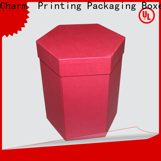 CharmPrinting special shape food packaging boxes high quality for food box