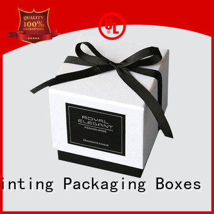 Charm Printing personalized candle gift box oem