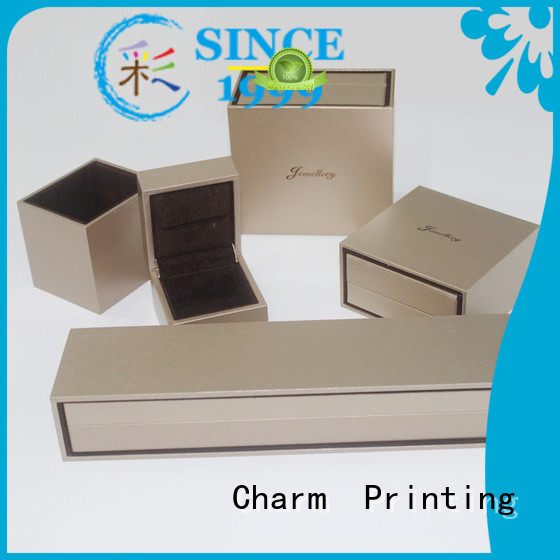 Charm Printing custom jewelry packaging factory price for jewelry packaging