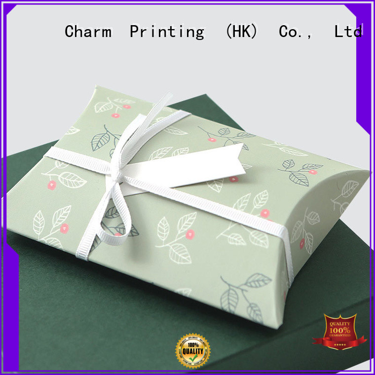 Charm Printing apparel packaging boxes handmade for apparel