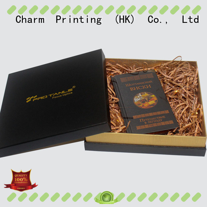 CharmPrinting book shape type festival packaging for gifts