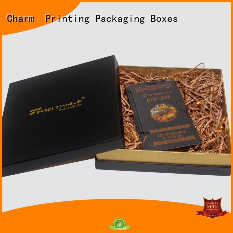 CharmPrinting custom packaging boxes OEM for festival packaging