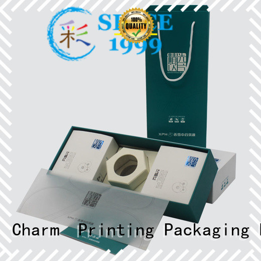 Charm Printing magnetic gift box base box dental products