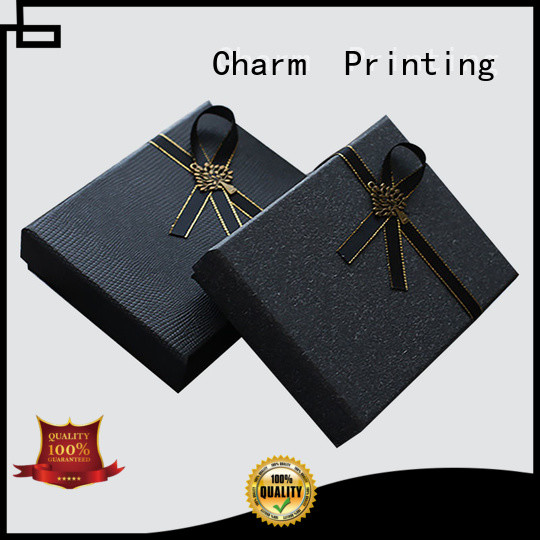 high quality apparel packaging boxes handmade for gift