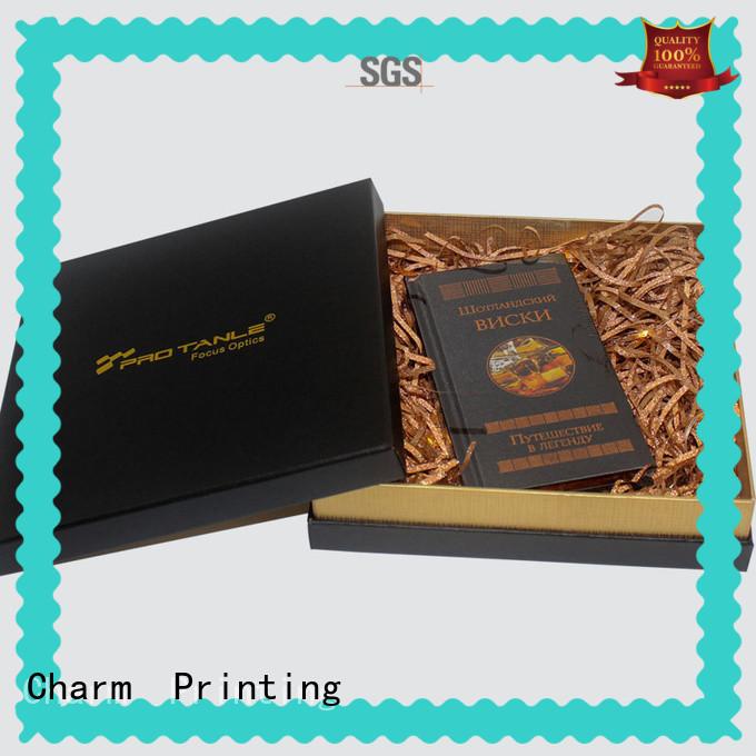 book shape type magnet gift box OEM for festival packaging