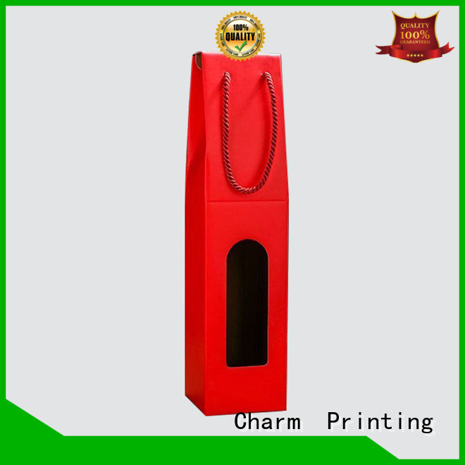 Charm Printing personalized wine gift box manufacturer food packaging