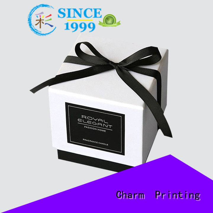 CharmPrinting luxury Card candle gift box good for gift