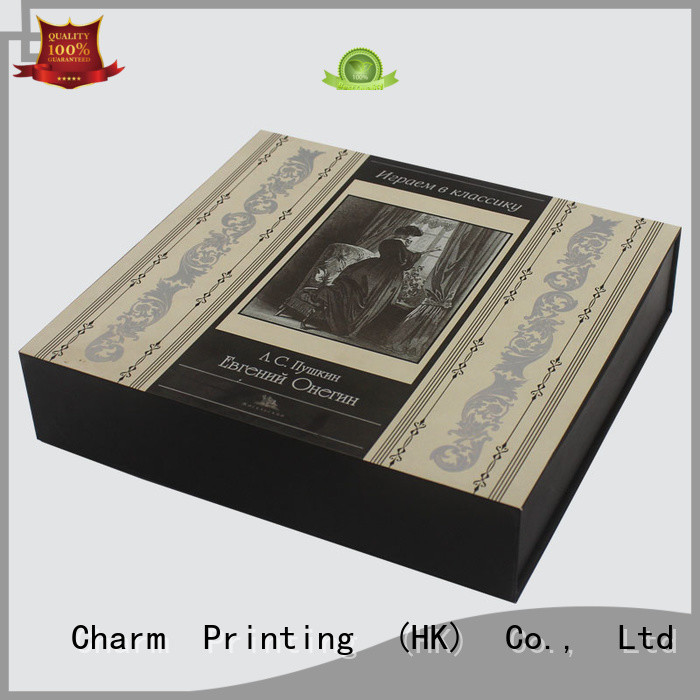 Charm Printing coloful cosmetic box offset printing storage