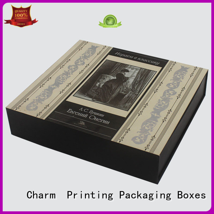 CharmPrinting customized cosmetic packaging box offset printing gift package