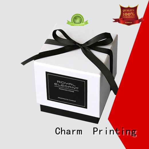 silk printing candle packaging box on-sale