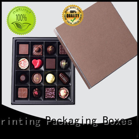 Charm Printing chocolate box automatic slide for chocolate box