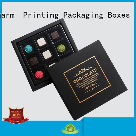 CharmPrinting luxury chocolate packaging thick luxury box