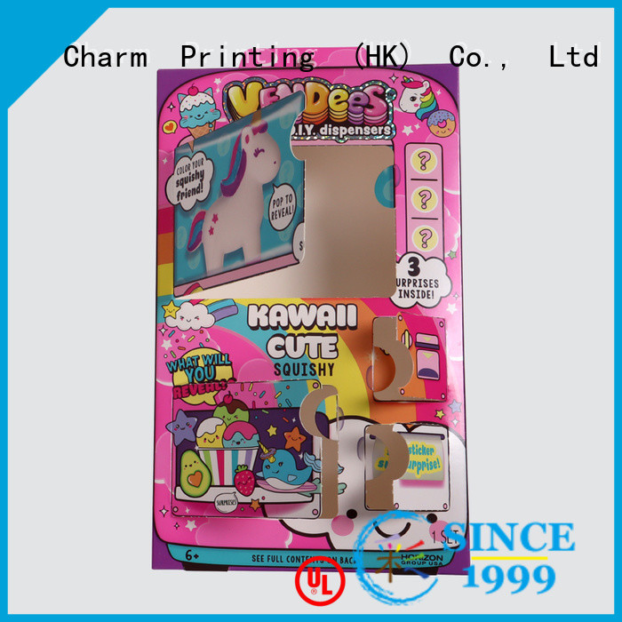 CharmPrinting custom toy packaging get quote corrugated Box