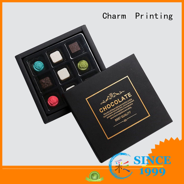 luxury chocolate packaging box automatic slide gift box