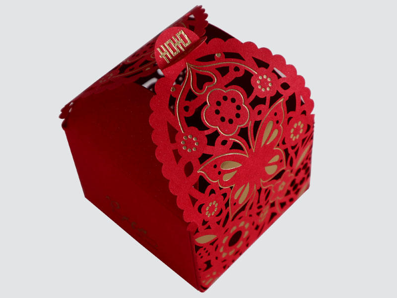 Beautiful Colorful Card Box for Wedding packaging-1