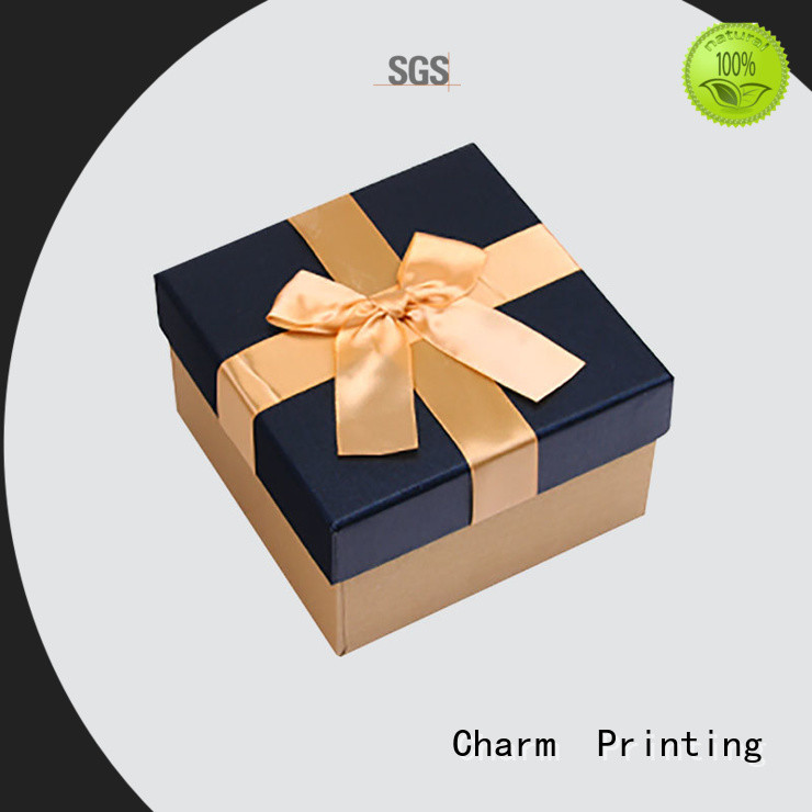 CharmPrinting silk printing candle packaging box Food packaging