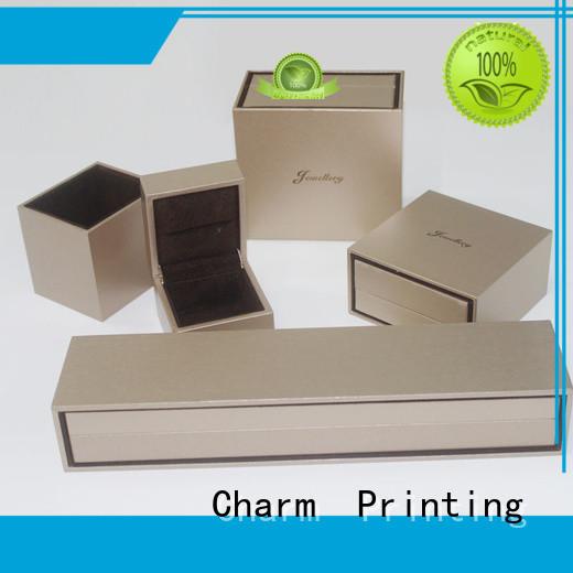 CharmPrinting jewelry box luxury design for gift box