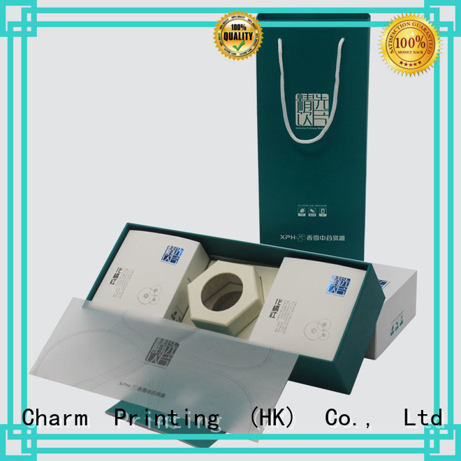 CharmPrinting luxury type paper gift box base box health care product