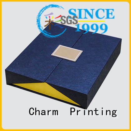 CharmPrinting book shape type packaging boxes OEM for gifts