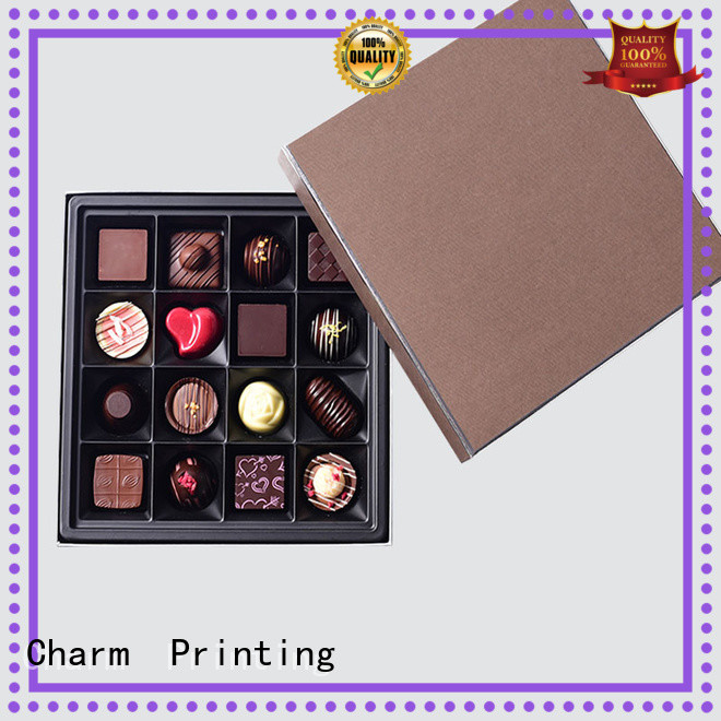 Custom Luxury Chocolate Lid And Base Gift Box