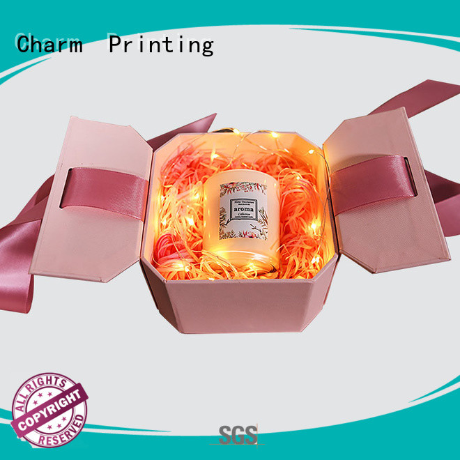 Charm Printing fragrance box printing color for fashion women