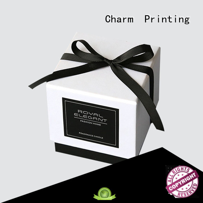 silk printing candle gift box on-sale