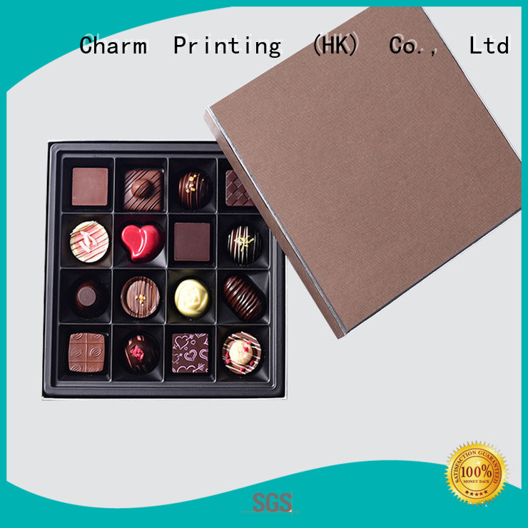 CharmPrinting chocolate packaging thick luxury box