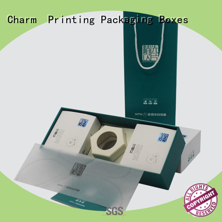 CharmPrinting cardboard gift boxes base box health care product